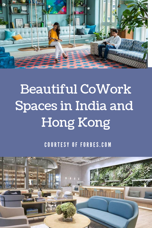 Beautiful CoOp Work Spaces in India and Hong Kong now Allen Texas